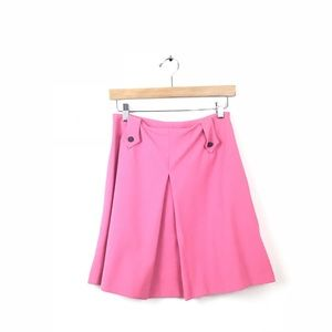 Christian Lacroix Skirt Bazar Pink Box Pleat 4